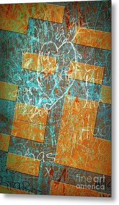 Grunge Background 6 Metal Print
