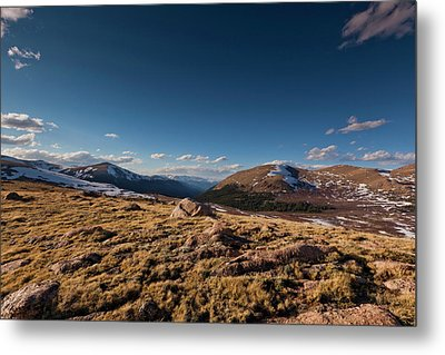 Guanella Pass Colorado Metal Print by Richard Steinberger