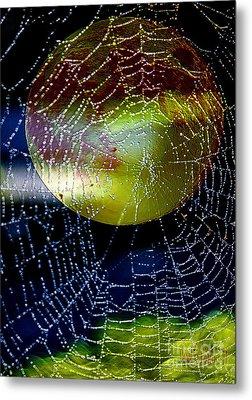 Halloween Haunting Metal Print by Carol F Austin