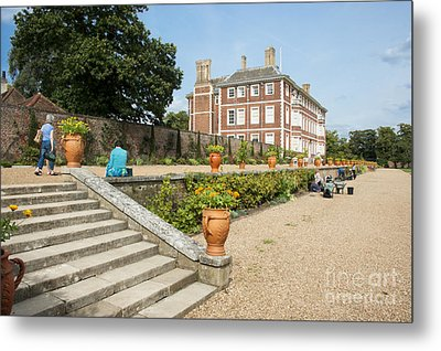 Ham House - Gardens Metal Print by Donald Davis