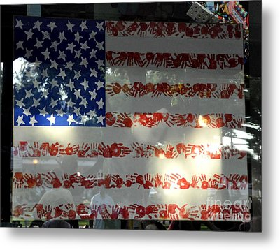 Hands Across America Metal Print by John Black