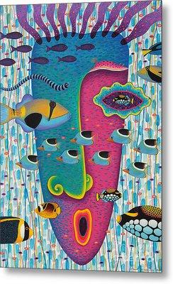 Happiness 3 Metal Print by Opas Chotiphantawanon