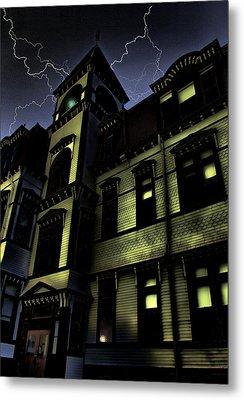 Haunted House Metal Print by Mark Sellers