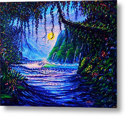 Heart Path To Paradise Metal Print by Joseph   Ruff