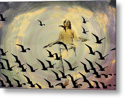 Heaven Sent Metal Print by Bill Cannon