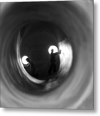 Metal Print featuring the photograph Heavy Industry by Emanuel Tanjala
