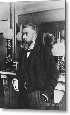 Henri Poincare, French Polymath Metal Print by Science Source