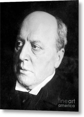 Henry James, American-born British Metal Print by Photo Researchers