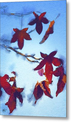 Metal Print featuring the digital art Here Today by Holly Ethan