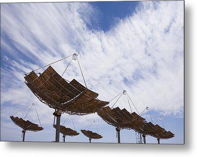 Hermansburg Solar Energy Receiver Array Metal Print by Stephen Alvarez
