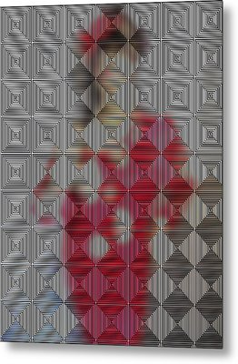 Hidden IImages Its All A Blur Metal Print by HollyWood Creation By linda zanini