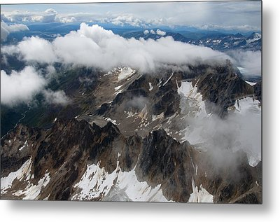 High In The Alaska Range Metal Print