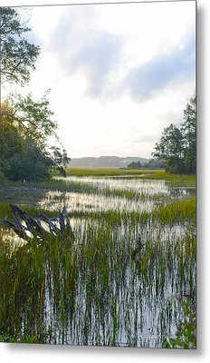 Metal Print featuring the photograph High Tide by Margaret Palmer