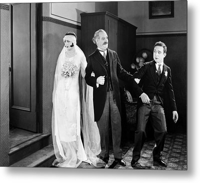 His Marriage Wow, 1925 Metal Print by Granger