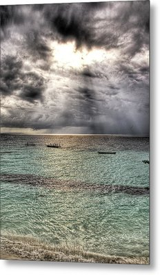 Hole Metal Print by Andrea Barbieri