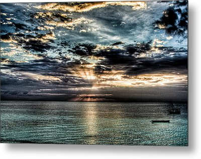 Horizon Metal Print by Andrea Barbieri