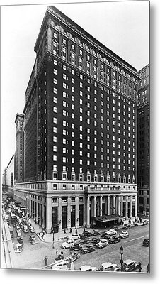 Hotel Pennsylvania, New York City Metal Print by Everett