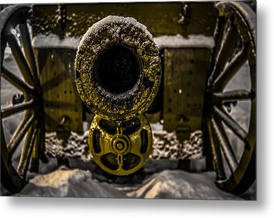 Metal Print featuring the photograph Howitzer by Matti Ollikainen