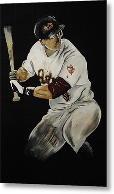 Hunter Pence 2 Metal Print