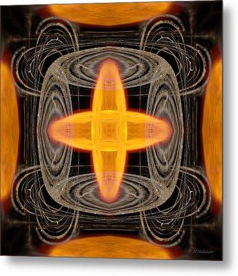 Hydrogen Fusion Metal Print by Joe Halinar