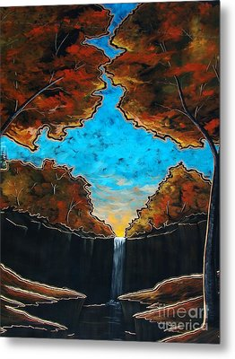 Metal Print featuring the painting If I Could by Steven Lebron Langston