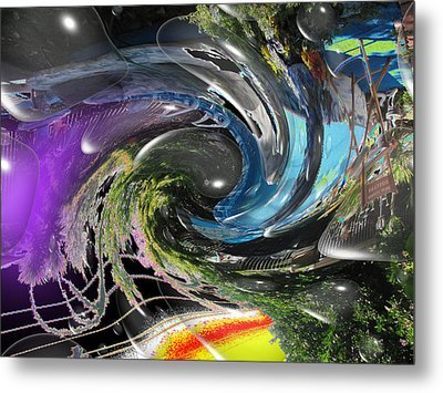 Imagination 2 Metal Print by HollyWood Creation By linda zanini