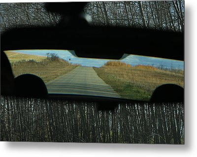 In The Rear View Metal Print by Ellery Russell