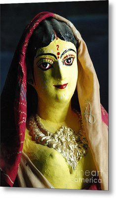 Metal Print featuring the photograph Indian Beauty by Fotosas Photography