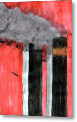 Inferno Metal Print by Eric Forster