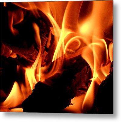Inner Fire Metal Print
