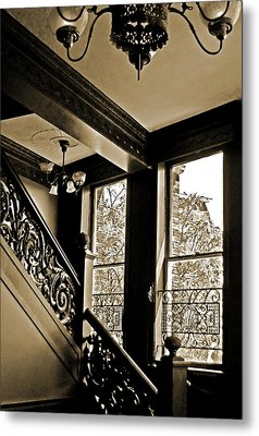 Interior Elegance Lost In Time Metal Print by DigiArt Diaries by Vicky B Fuller