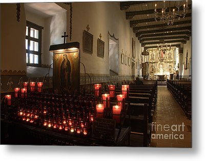 Interior Old Mission Metal Print by Bob Christopher