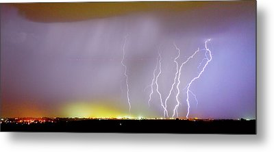 Into The Colorful Night Metal Print by James BO  Insogna