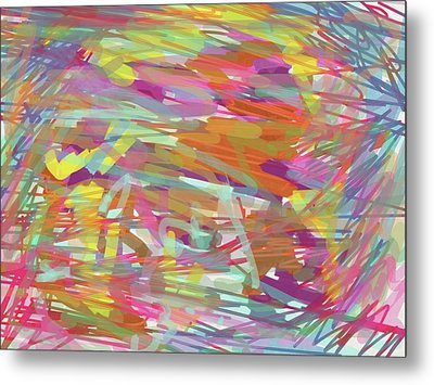 Into The Prism Tunnel Metal Print