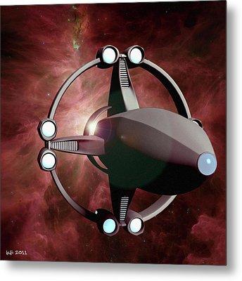 Intrepid Voyage Metal Print by James C Jones II