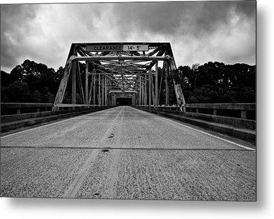 Iron Bridge Mississippi Metal Print by Bryan Burch