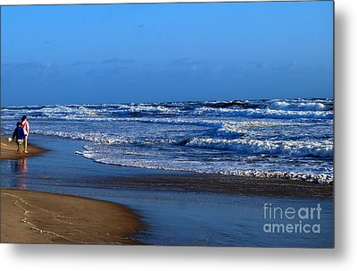 It's A Big Ocean Out There Metal Print