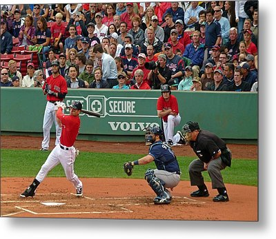Jacoby Ellsbury Metal Print by Juergen Roth