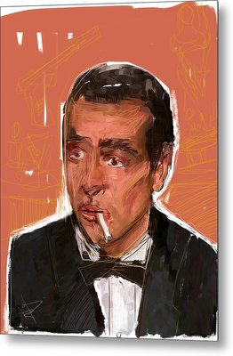 James Bond Metal Print by Russell Pierce