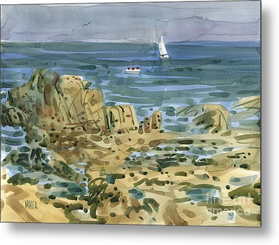 James's View Metal Print by Donald Maier