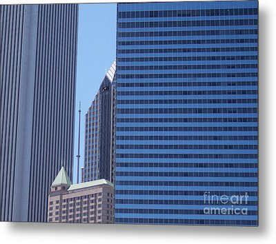 jammer Chicago 014 Metal Print by First Star Art