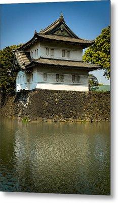 Japan Castle Metal Print