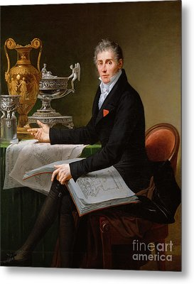 Jean-baptiste-claude Odiot Metal Print by Robert Lefevre