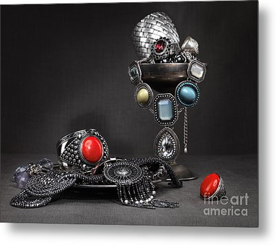 Jewellery Still Life Metal Print