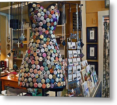 Jewelry Shoppe Metal Print by Pamela Patch