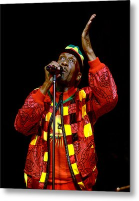 Jimmy Cliff Metal Print by Jeff Ross