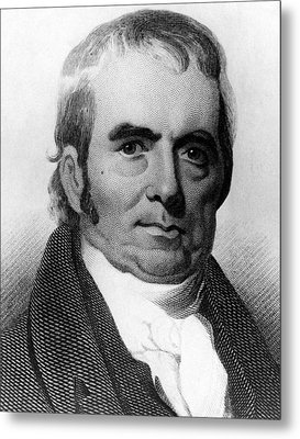 John Marshall, 1755-1835, Chief Justice Metal Print by Everett