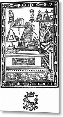 John Peckham, Anglican Theologian Metal Print by Science Source