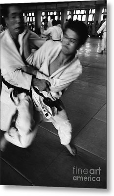 Judo Metal Print by Bernard Wolff