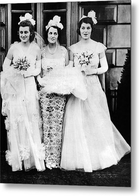 Kathleen, Rose, And Rosemary Kennedy Metal Print by Everett